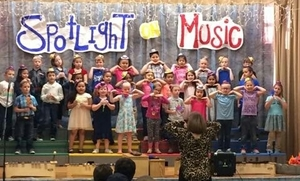 First Grade Spring Music Program