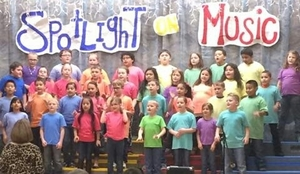 Second Grade Spotlight on Music