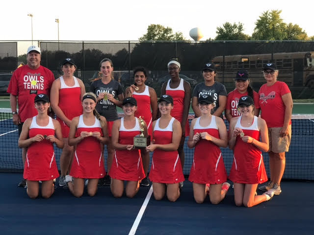 Girls Tennis Conference Champs!