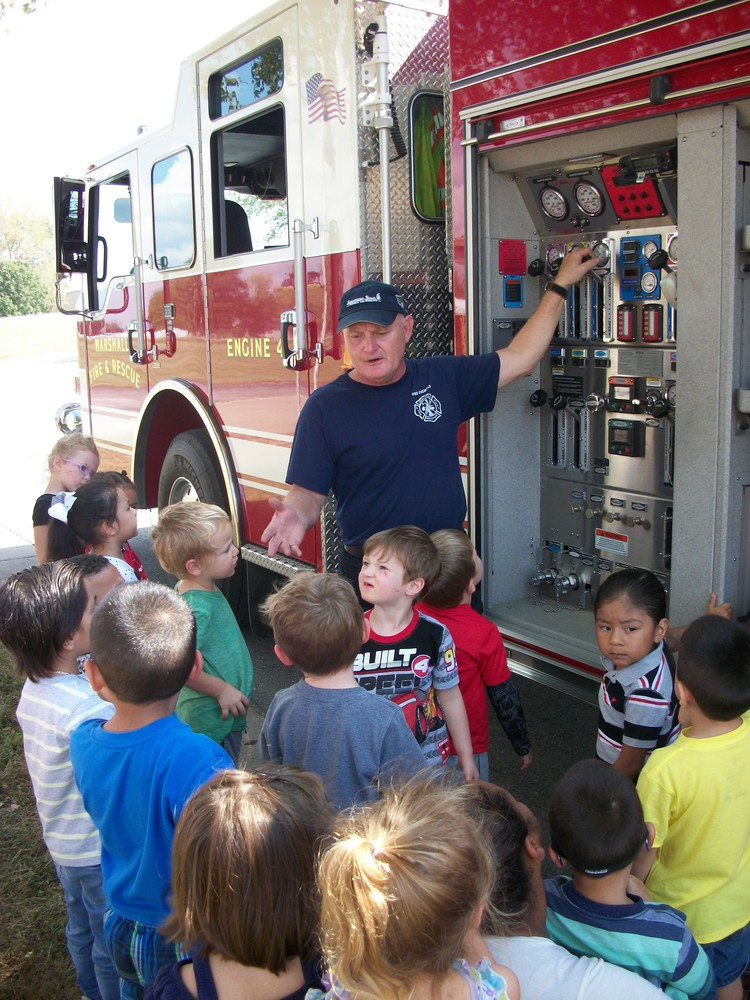 Visit From The Fire Dept.