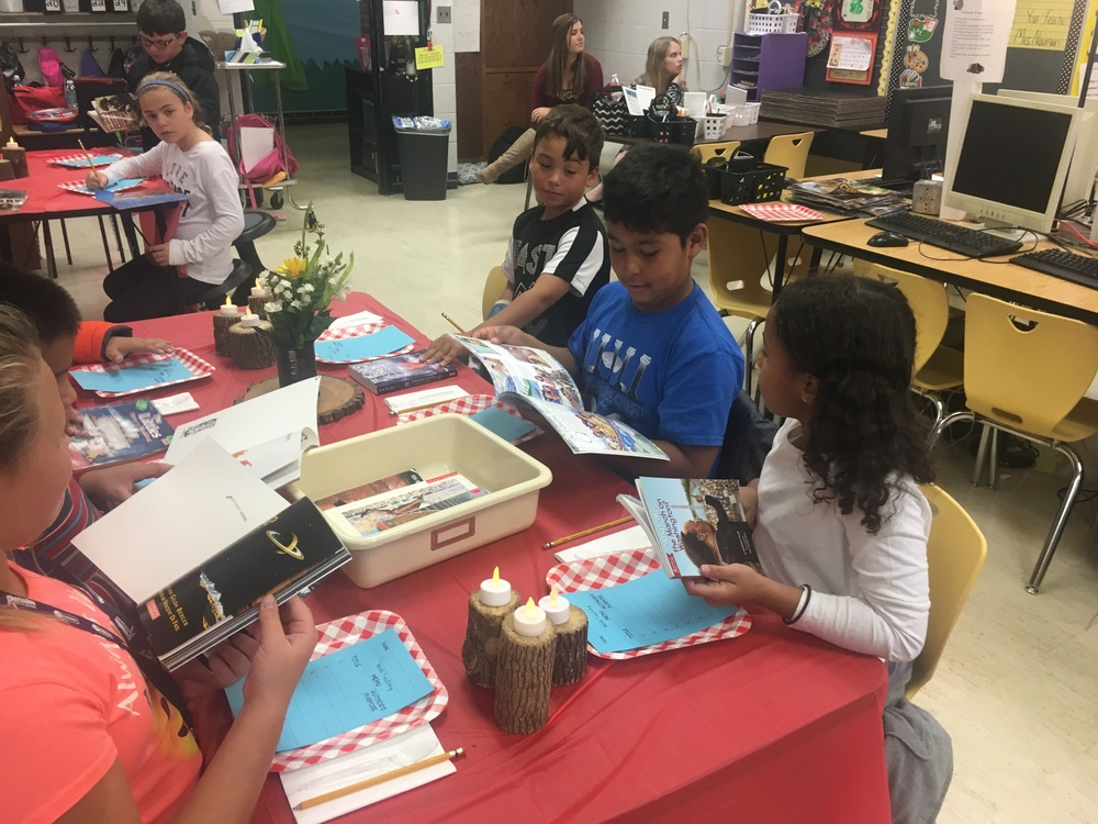 Book Tastings for Author's Purpose