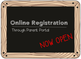 Online Registration NOW OPEN!