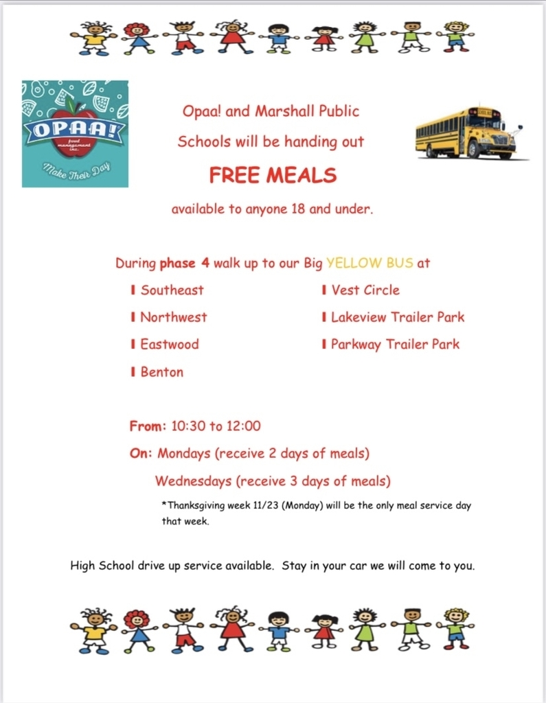 Free school meals during phase 4