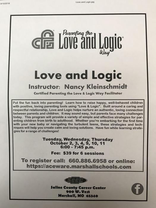 Love and Logic Training
