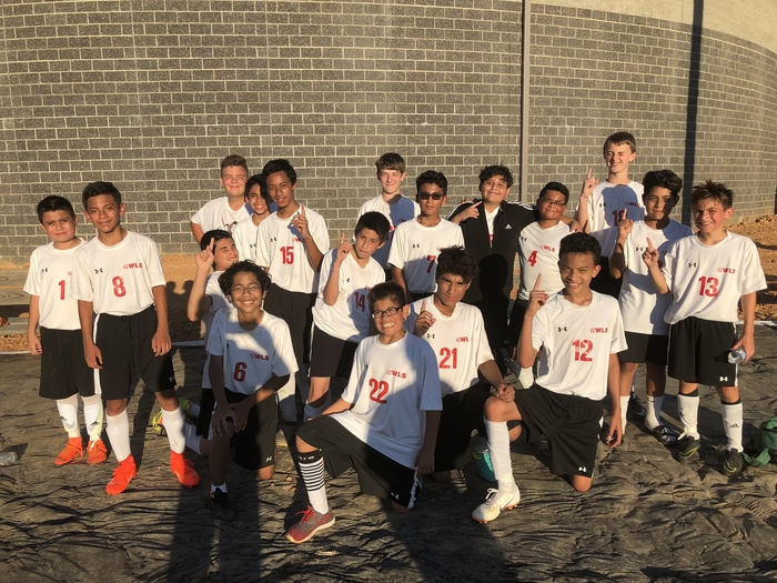 BMS Soccer ... another win!  3-0!!