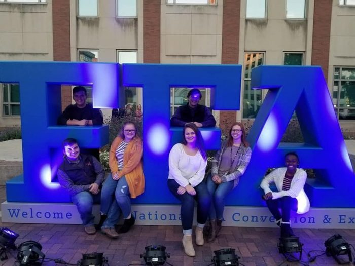 FFA members attending the National Convention