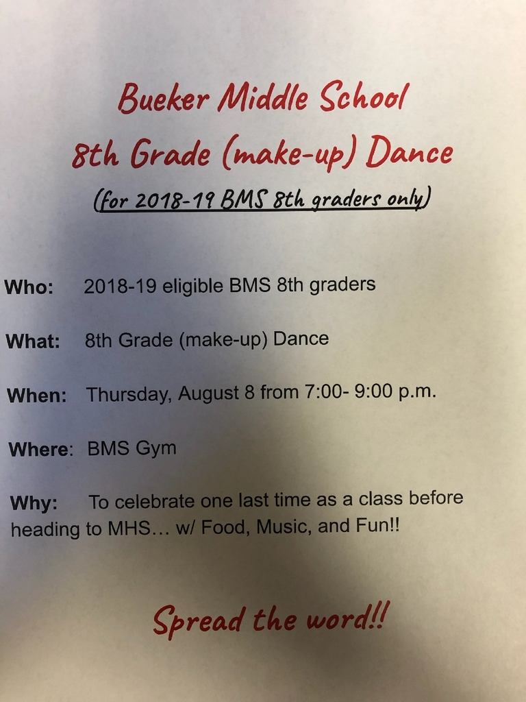 8th grade make-up dance