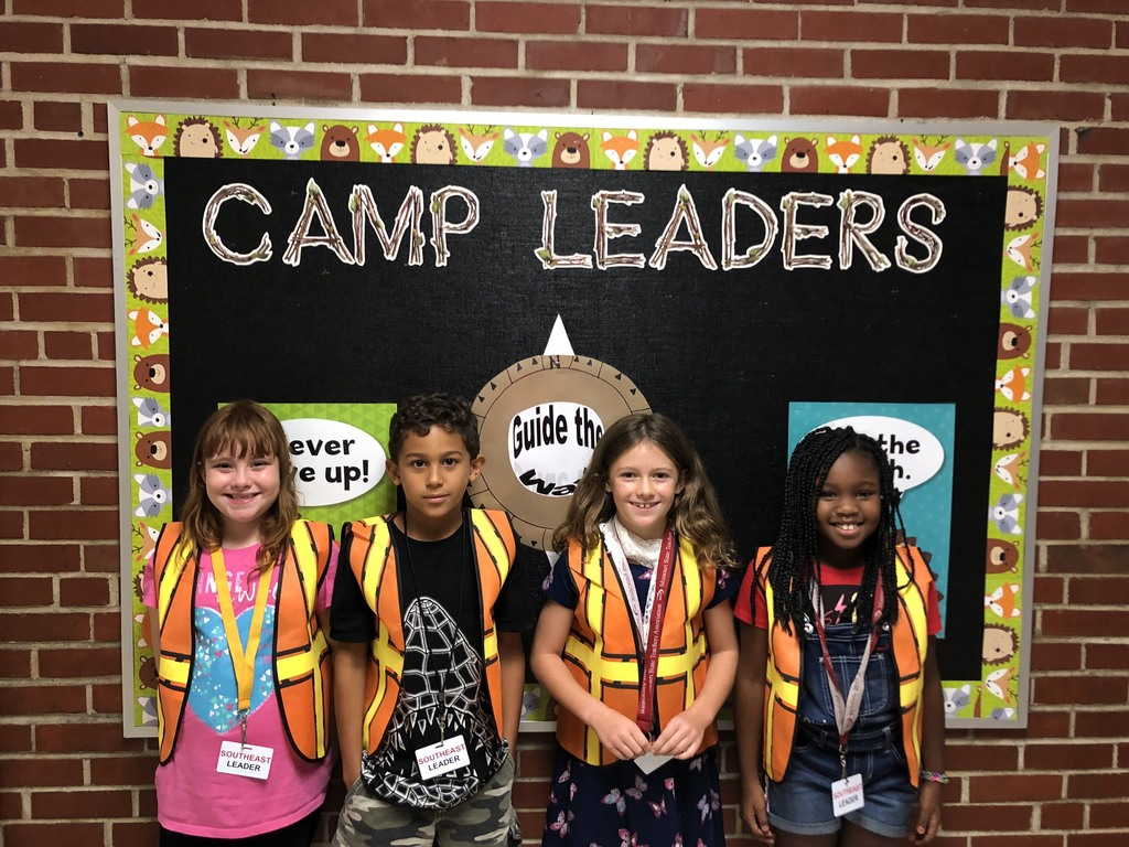 Second grade leaders