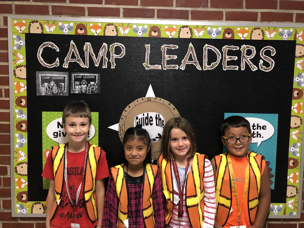 Happy Campers and Leaders for the week.