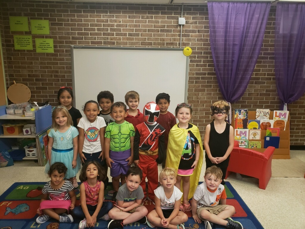Early Childhood was extra SUPER yesterday with our Superheroes!