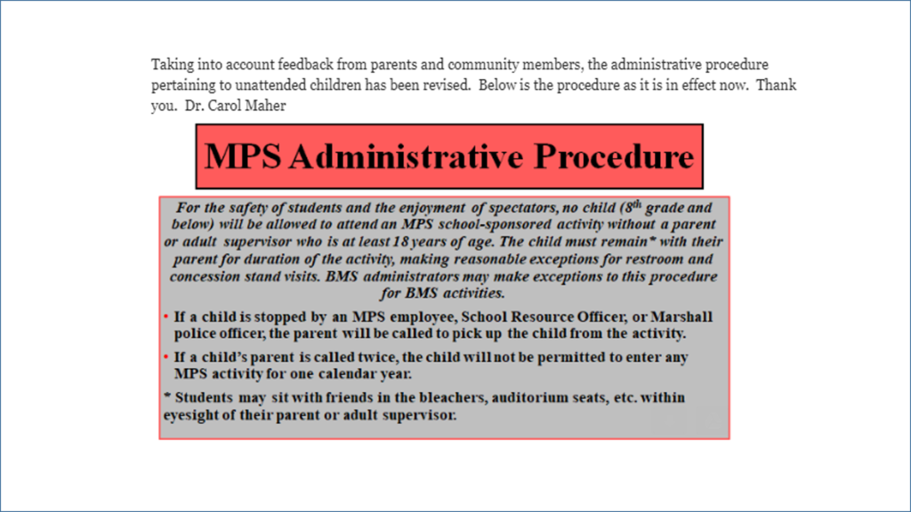 Revised MPS Administrative Procedure