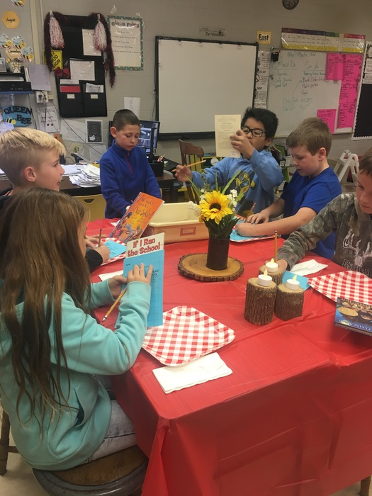 author's purpose book tasting
