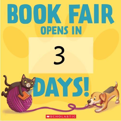 Countdown to BOGO Book Fair
