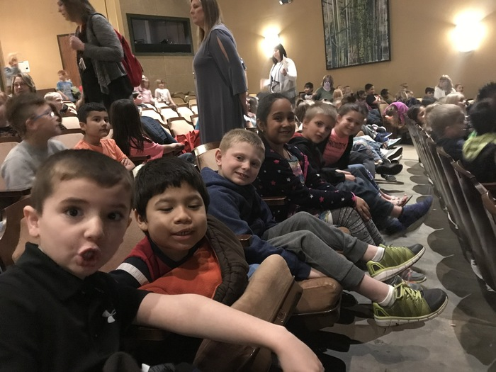 Fun at Frog and Toad at the Lyceum!